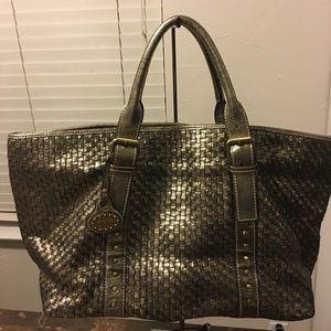 TOUS golden mesh bag